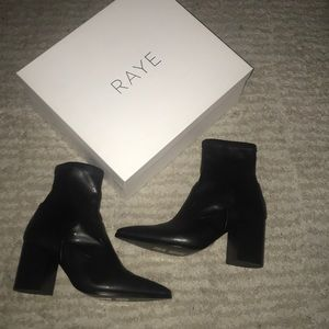 RAYE Black booties